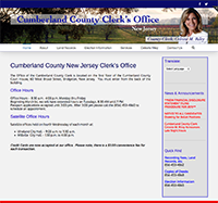 Cumberland County New Jersey Clerk's Office