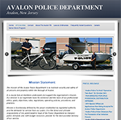 Avalon Police Department Avalon, New Jersey